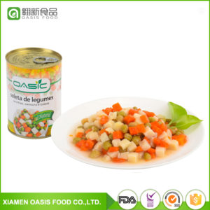OASIC-CANNED MIXED VEGETABLES