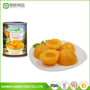 OASIC-CANNED YELLOW PEACH HALVES